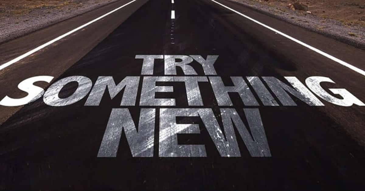 try something new road