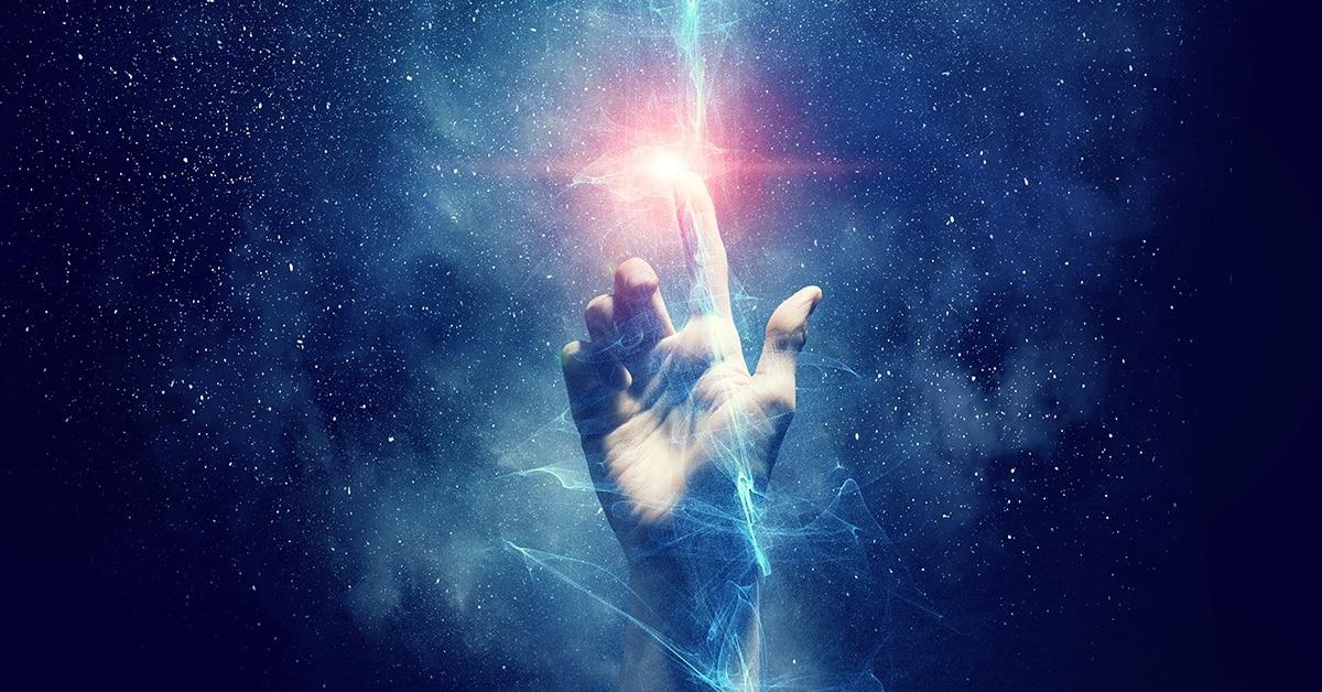 cosmic hand of universe