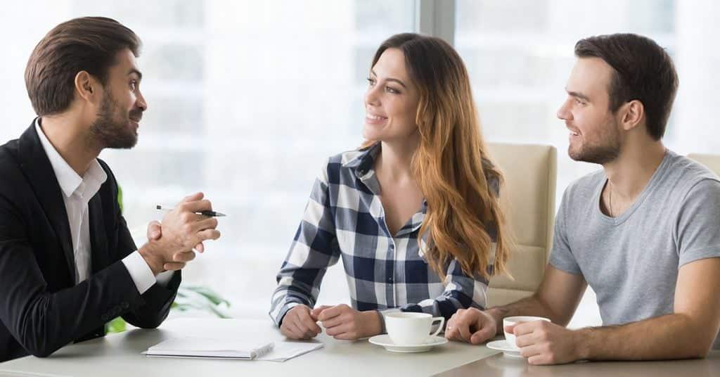 life coach financial meeting