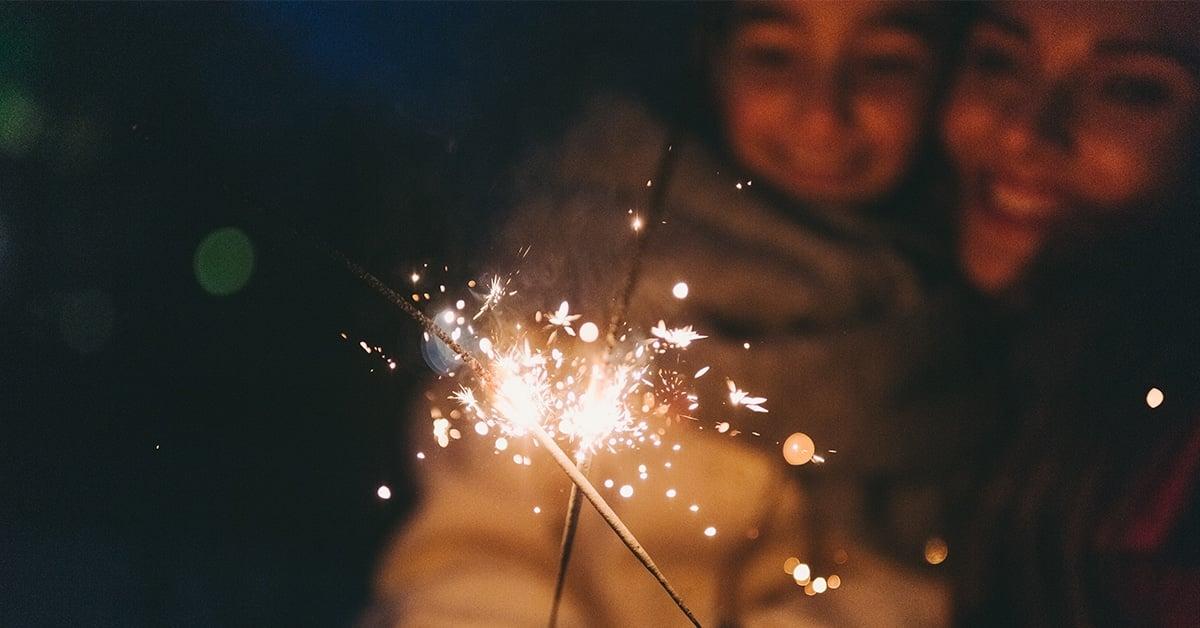 bokeh sparklers