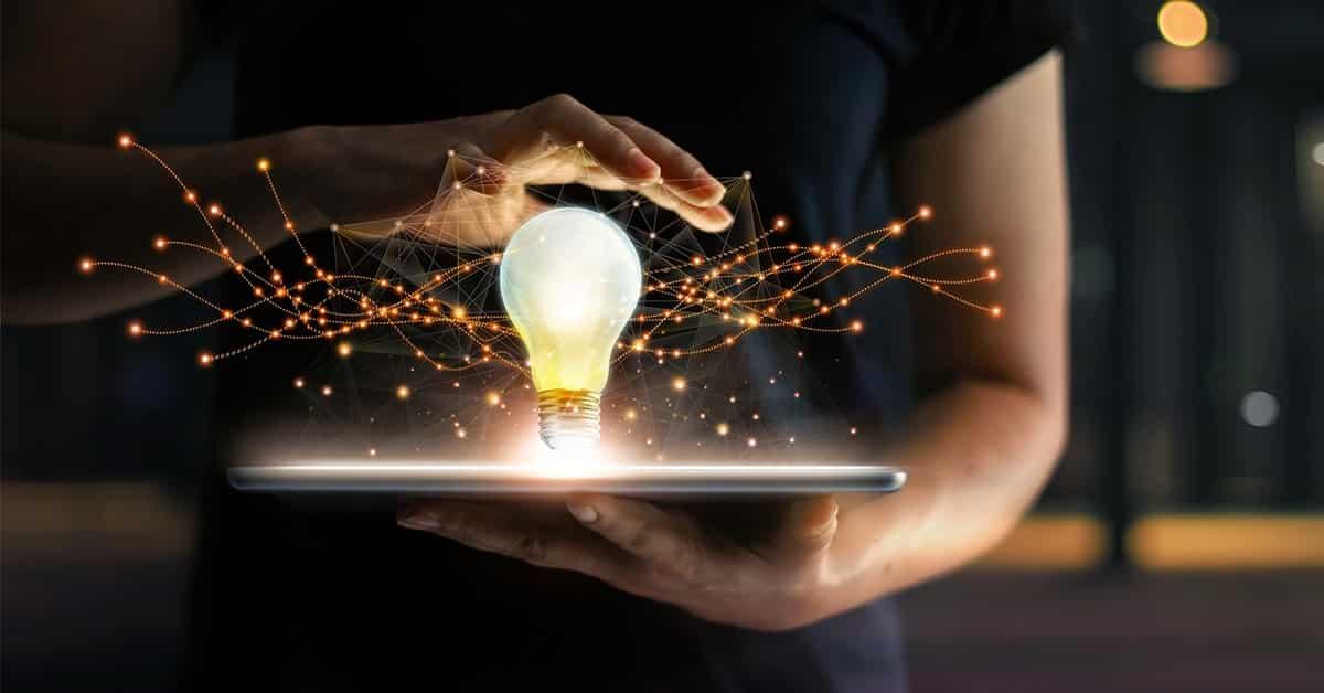 create vision for life lightbulb ipad