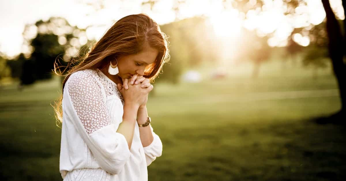 morning habits meditation woman