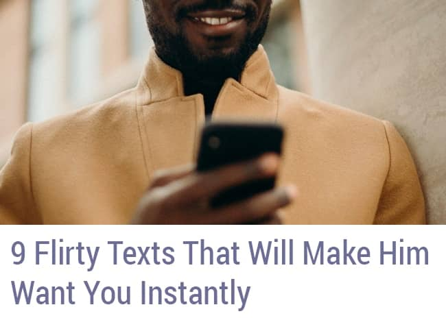 9 Flirty Texts LR Supplemental Sidebar Opt-In