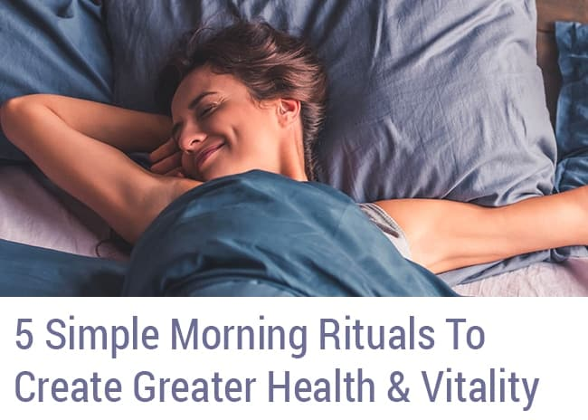 Morning Rituals HW Supplemental Sidebar Opt-In