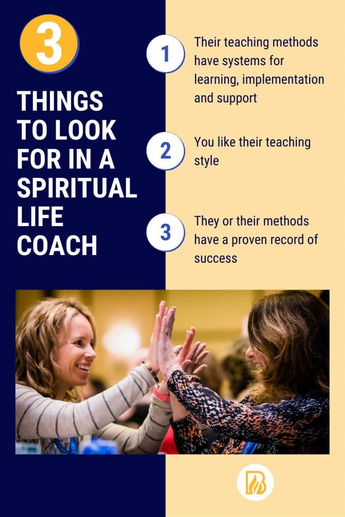 3 things to look for in a spiritual life coach