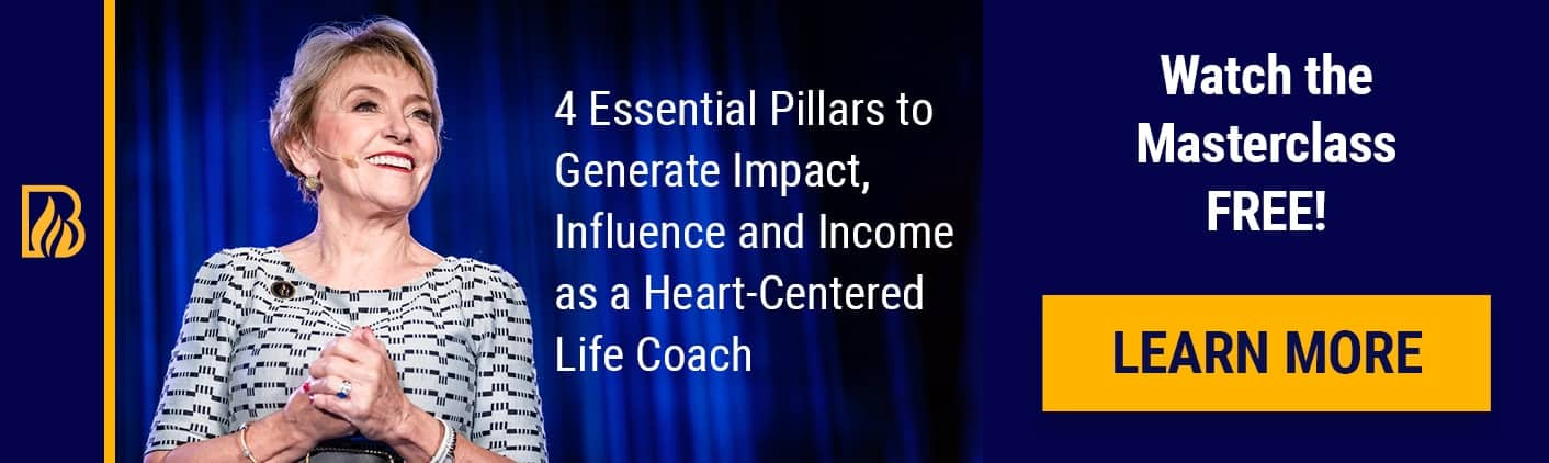 4 Pillars Masterclass Life Coach Certification Banner