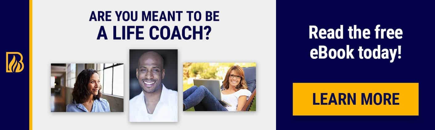 Meant To Be Life Coach eBook Life Coach Certification Banner