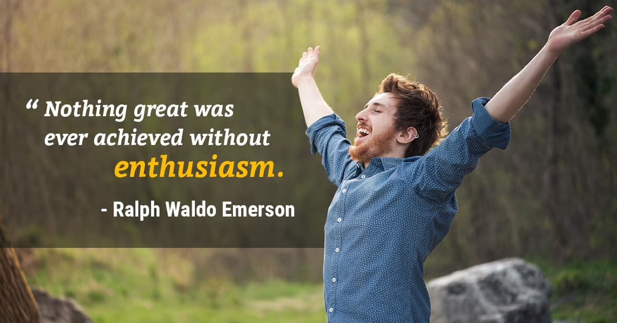 enthusiasm quote ralph waldo emerson