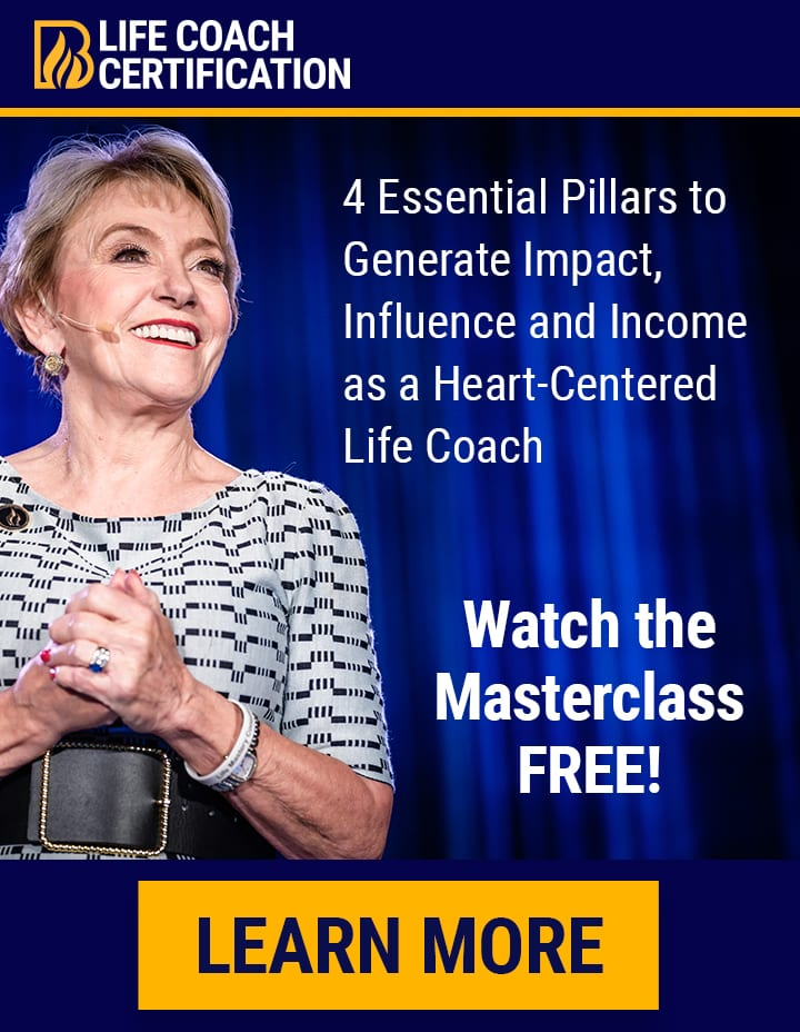 4 Pillars Masterclass Life Coach Certification Sidebar