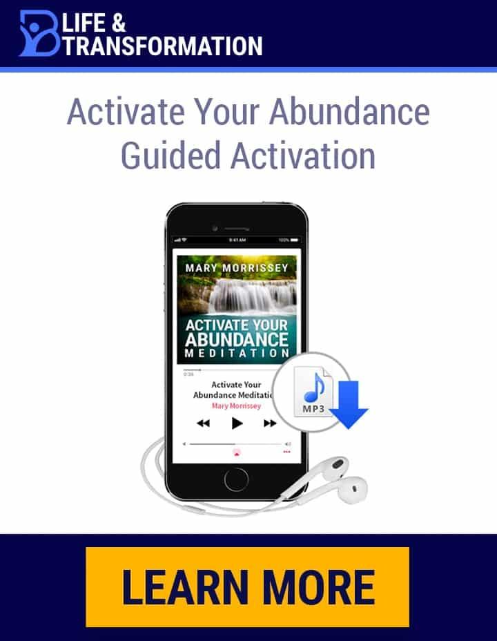 Abundance Activation Meditation Sidebar