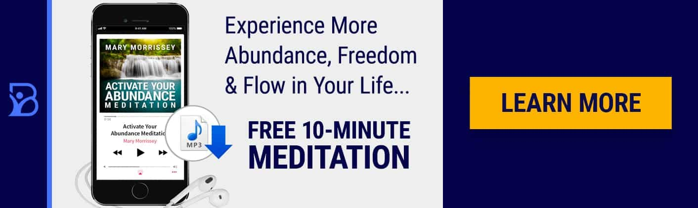 Activate Your Abundance Meditation Blog Banner