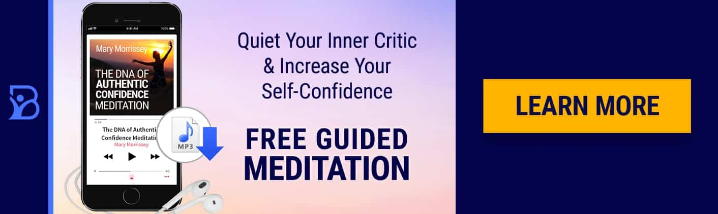 Power of Confidence Meditation Blog Banner