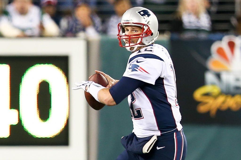 Tom Brady, know as the greatest of all time Quarterback.