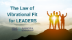 Use The Law of Vibrational Fit to Lead Yourself and Your Team to Greater Heights