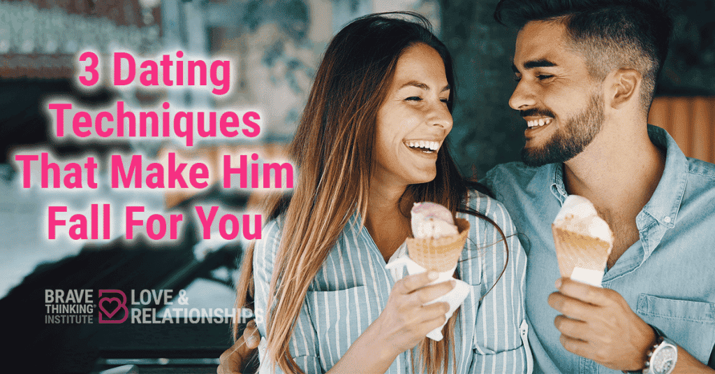 3 dating techniques that make him fall for you - Dating advice for women by Mat Boggs